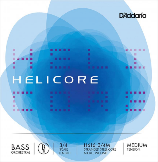 D´ADDARIO  Helicore Bass H5-Saite, medium