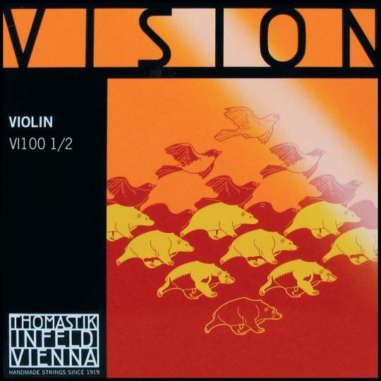 THOMASTIK  Vision Satz 1/2 Violinsaiten, medium
