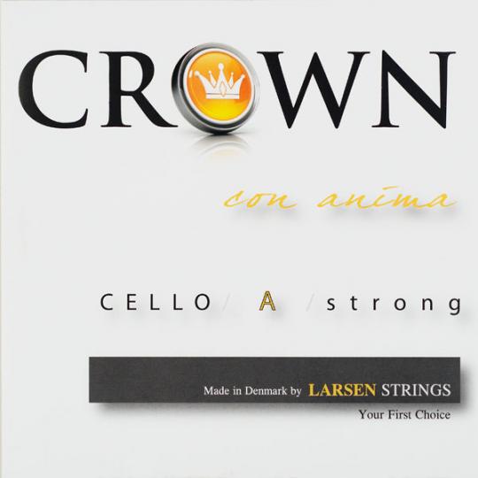 Crown Strings Violoncello, A- snaar, alu, medium