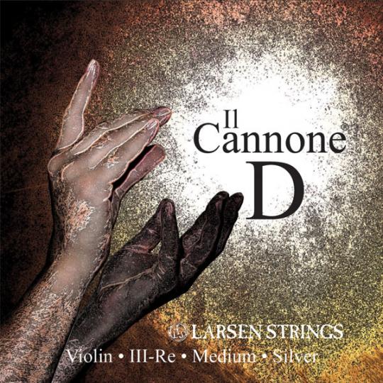 Larsen Il Cannone Violine D-Saite, medium