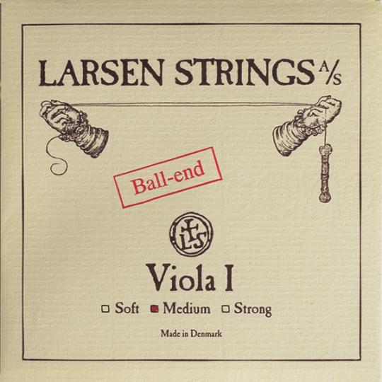 LARSEN Viola A-snaar met kogeltje, soft