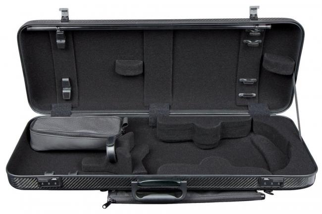 GEWA Idea 2.6 Oblong Viola Case, black/black