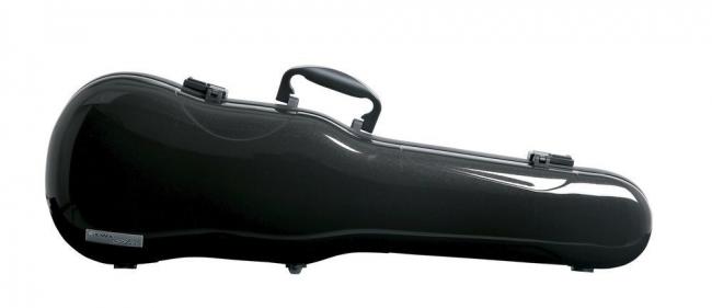 Gewa Violinformetui Air 1.7, schwarz metallic hochglanz