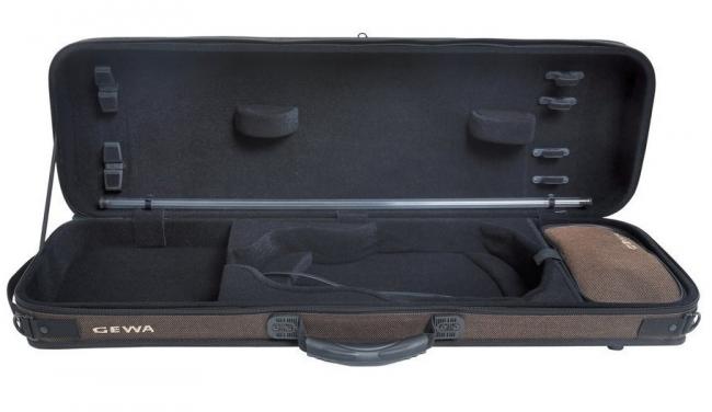 GEWA Violinkoffer Oxford, braun/schwarz