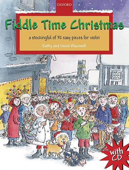 Fiddle Time Christmas, 1-2 violins, met CD