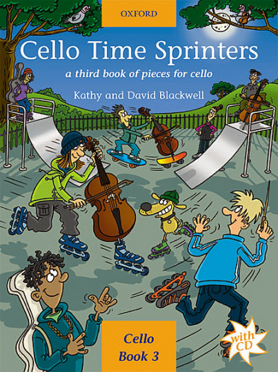Cello Time Sprinters met CD, deel 3