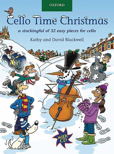 Cello Time Christmas met CD