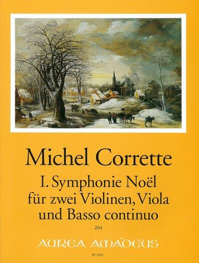 Corrette, I. Symphonie Noël d-moll