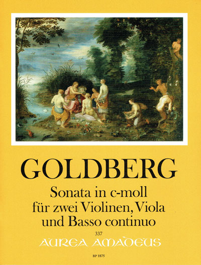 Goldberg, Sonata in c-moll