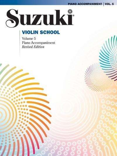Suzuki methode viool, pianobegeleiding Boek 5