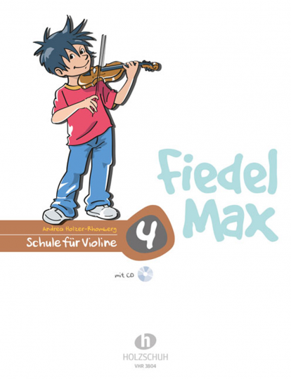 Fiedel-Max Vioolschool , Audio-CD deel 4