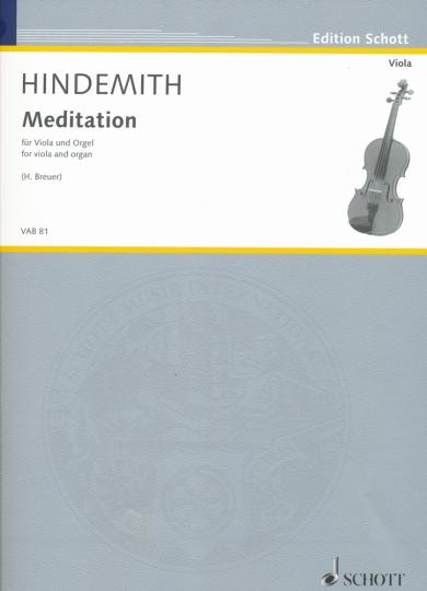 Hindemith, Meditation