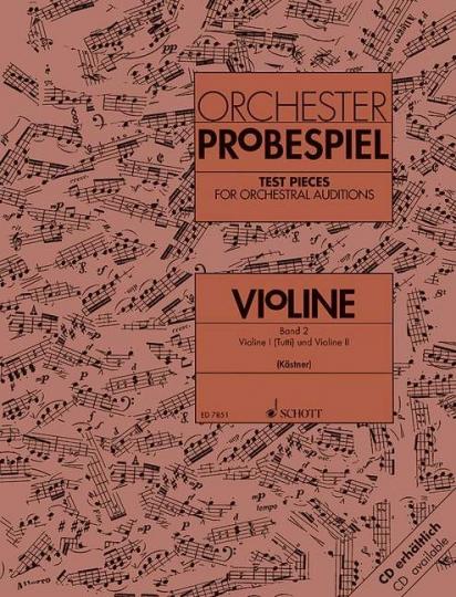 Orchester-Probespiel Violine - Band 2