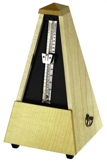 Wittner Metronom Pyramide, Ahorn natur