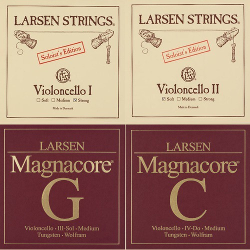 Larsen Soloist / Magnacore Set Cellosnaren, medium