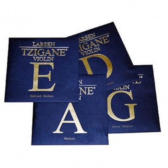 LARSEN Tzigane - Set vioolsnaren - E lusje - med.
