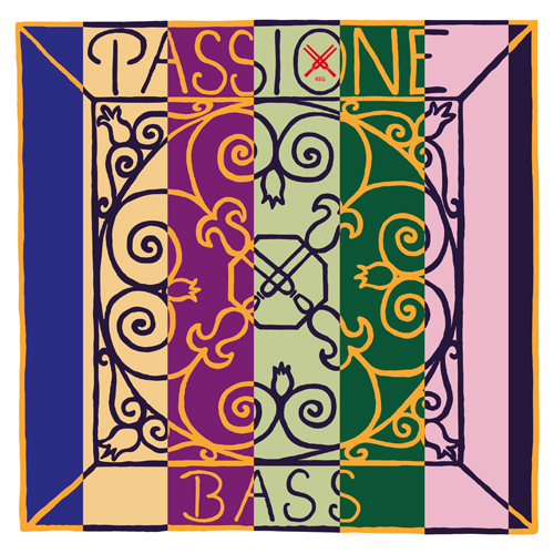 Pirastro Passione Kontrabass Satz stark