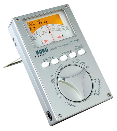 Korg OT-120 Chromatisches Stimmgerät