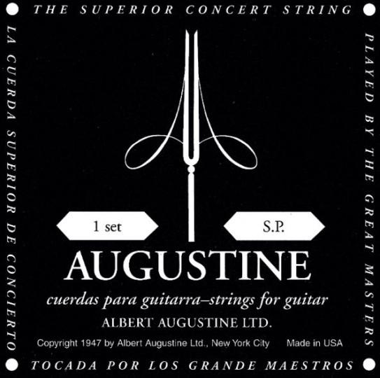AUGUSTINE Black Label Gitarresaiten SATZ, low tension