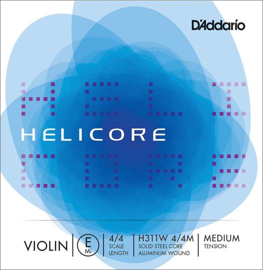 D´ADDARIO Helicore Violinsaite E mit Kugel