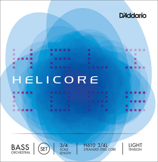 D´ADDARIO  Helicore Bass Satz H, light