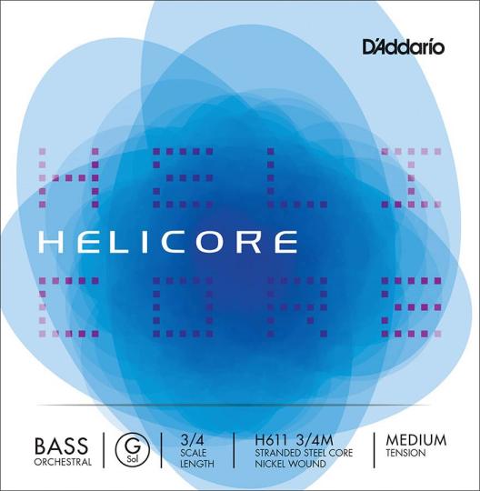 D´ADDARIO Helicore Basssaite G H611