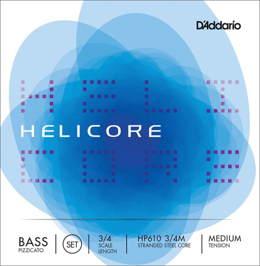D´ADDARIO  Helicore Bass Satz HP, medium