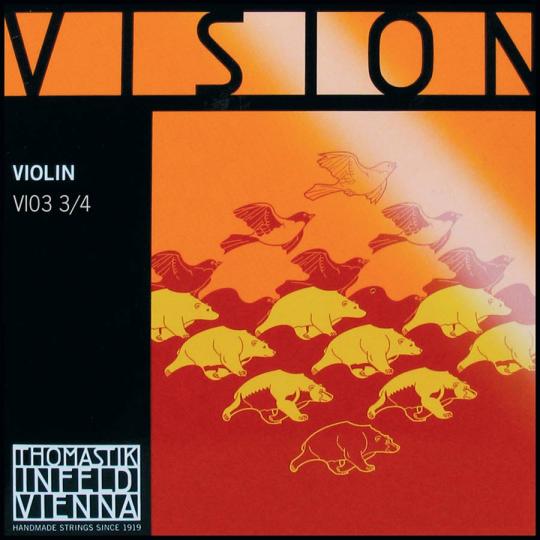 THOMASTIK  Vision D-Saite für Violine mittel 3/4