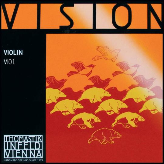 THOMASTIK Vision Violinsaite E, mittel