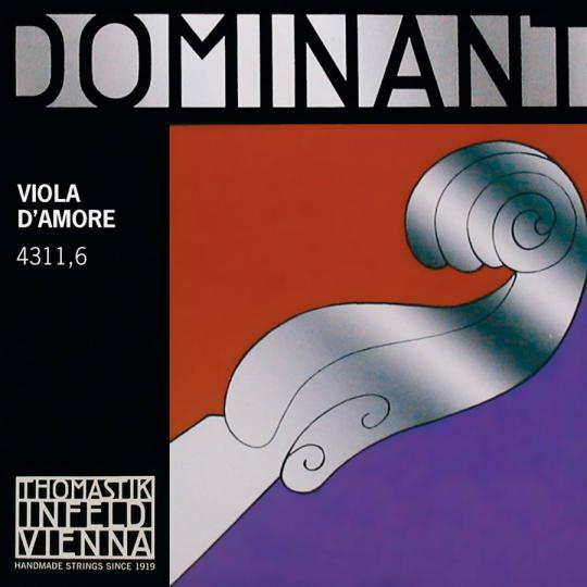 THOMASTIK Dominant Viola D´Amore D Saite