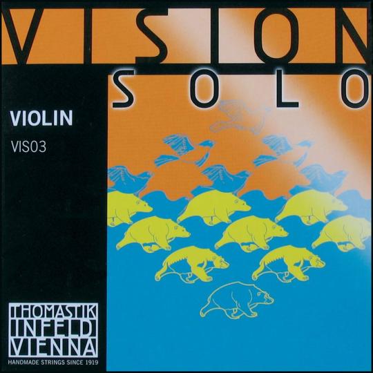 THOMASTIK Vision SOLO Violinsaite D, mittel