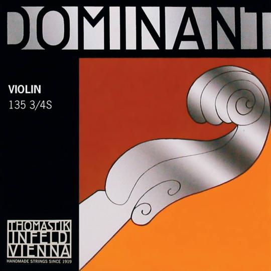 THOMASTIK Dominant Violinsaiten SATZ mit E-Kugel 3/4