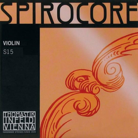 THOMASTIK Spirocore Violinsaiten SATZ Alu/Chrom, mittel