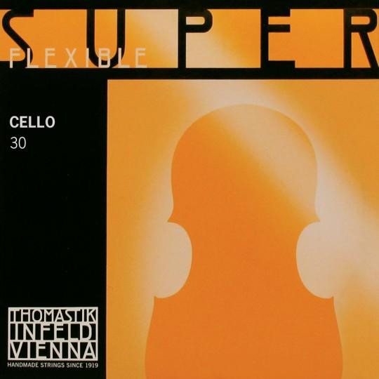 THOMASTIK Superflexible Cellosaite C Silber