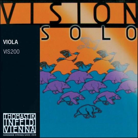 THOMASTIK Vision SOLO Violasaiten SATZ, mittel