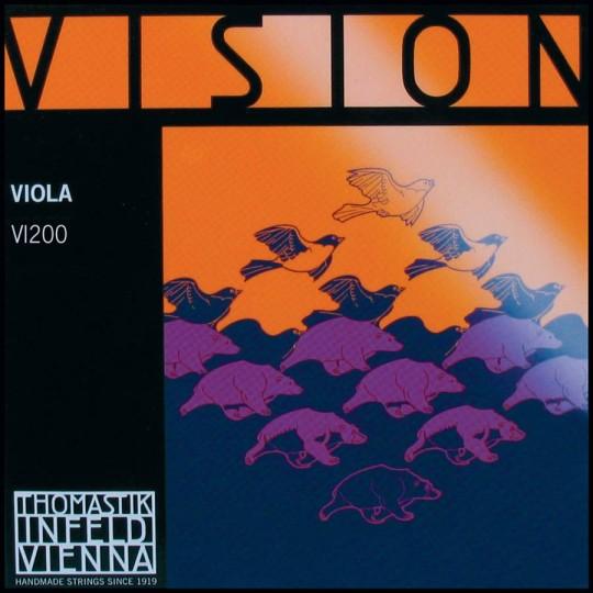 THOMASTIK Vision Violasaiten SATZ, mittel