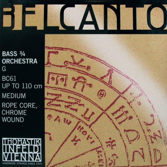 THOMASTIK Belcanto Basssaite G, medium