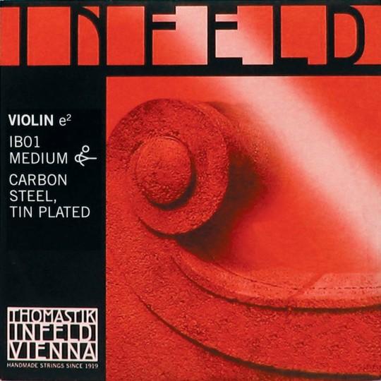 THOMASTIK  Infeld rot Violinsaite E Gold