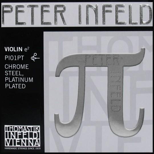THOMASTIK Peter Infeld PI01PT Violinsaite E, Umspinnung Platin