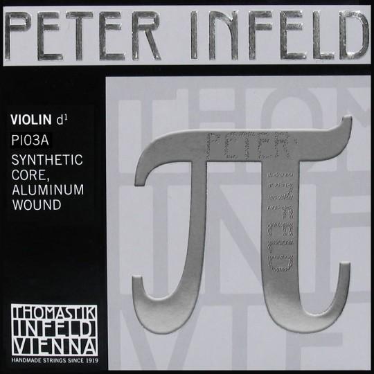 THOMASTIK Peter Infeld PI03A Violinsaite D, Silber