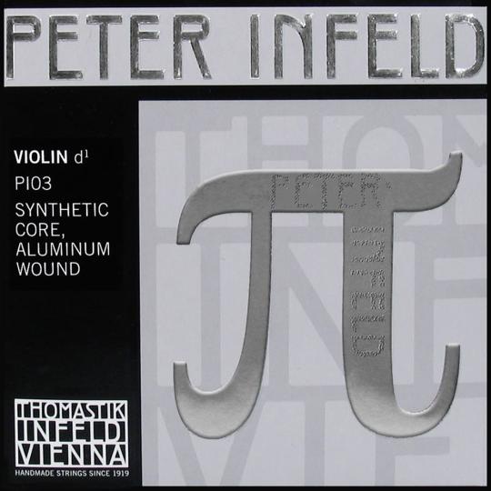 THOMASTIK Peter Infeld PI03 Violinsaite D, Alu
