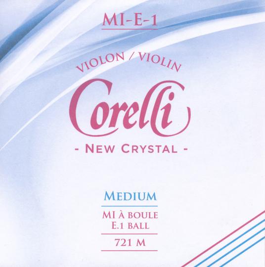 CORELLI Crystal Violinsaiten SATZ mit E-Kugel
