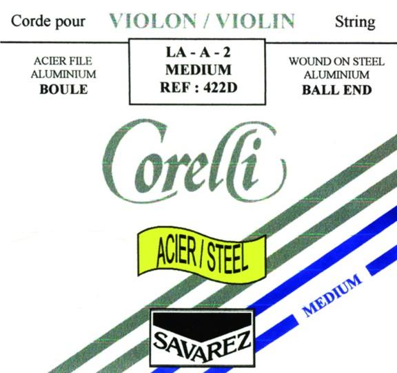 CORELLI Stahl Violinsaite E mit Kugel