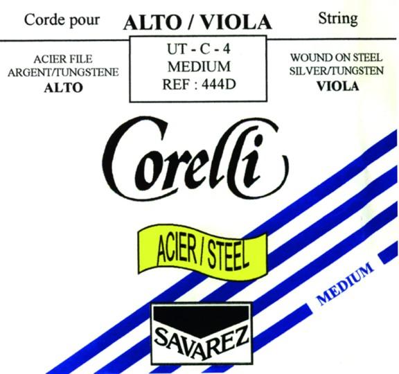 CORELLI Stahl Violasaite C Silber/Wolfram, medium
