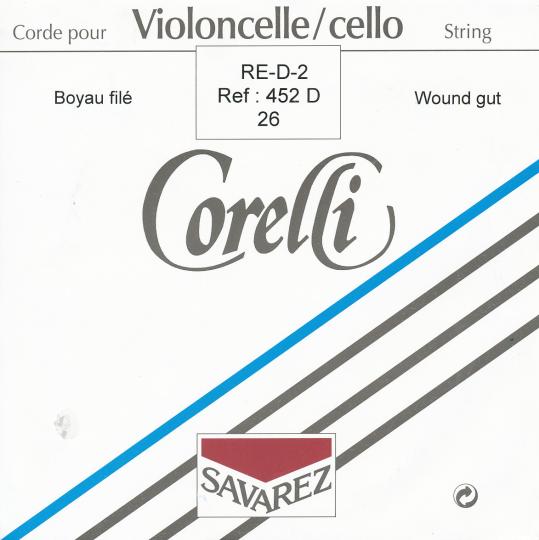 CORELLI Darm Cellosaite D 26 Alu umsponnen