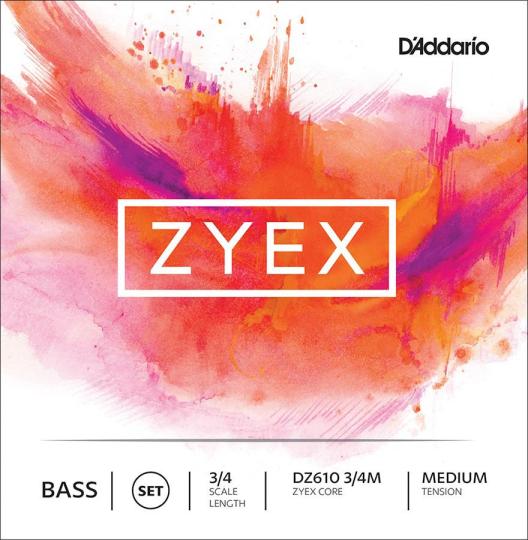 D´ADDARIO Zyex Basssaiten SATZ, medium