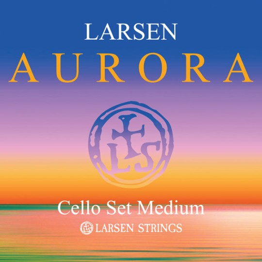 Aurora Cellosaiten von Larsen Satz 1/8 medium