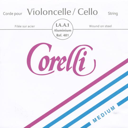 CORELLI Stahl Cellosaite A Alu, mittel