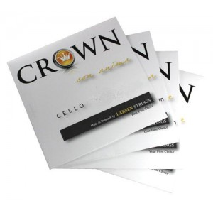 CROWN Strings Cellosaiten SATZ medium