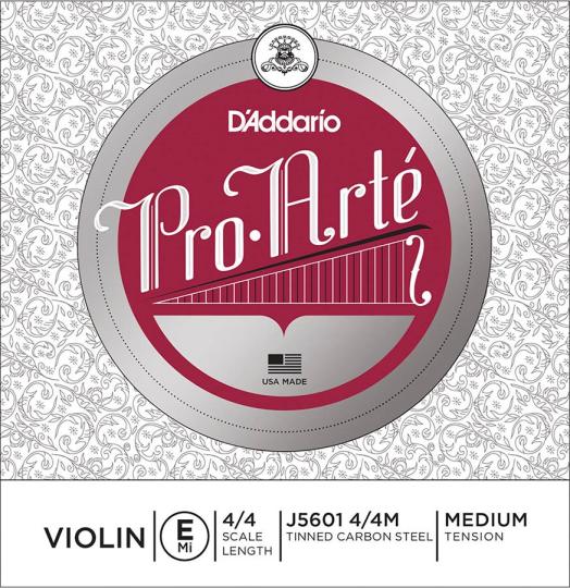 D´ADDARIO ProArté Violinsaite E mit Kugel, medium